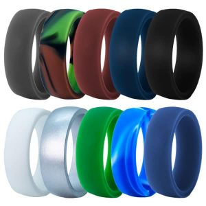 Classic Style Silicone Rings