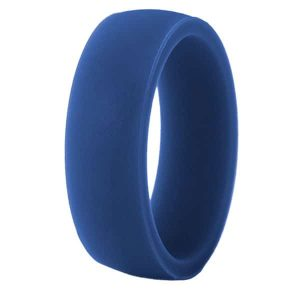 Blue Classic Silicone Ring