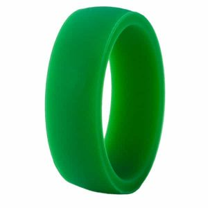 Green Classic Silicone Ring