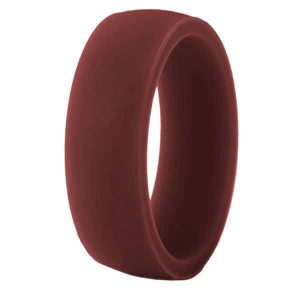 Maroon Classic Silicone Ring