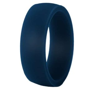 Navy Classic Silicone Ring